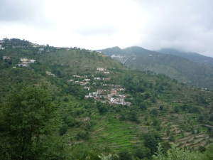 hillside_village_india